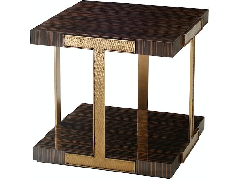 Theodore Alexander Furniture Ac50042 Living Room Tau End Table