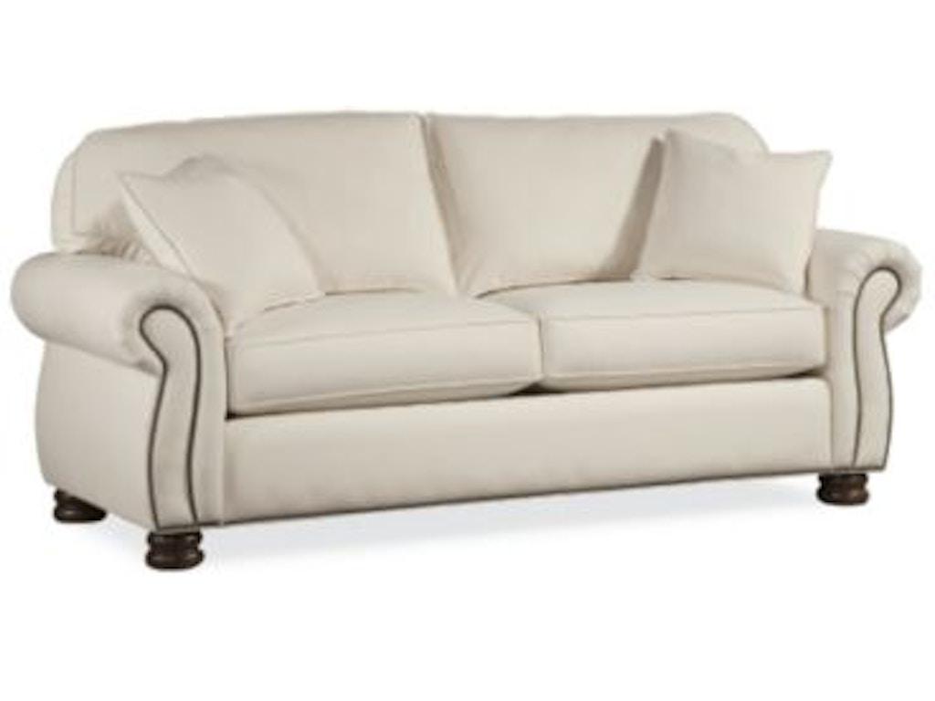Thomasville Furniture Living Room Upholstered Benjamin 2 Seat Sofa 1461 11