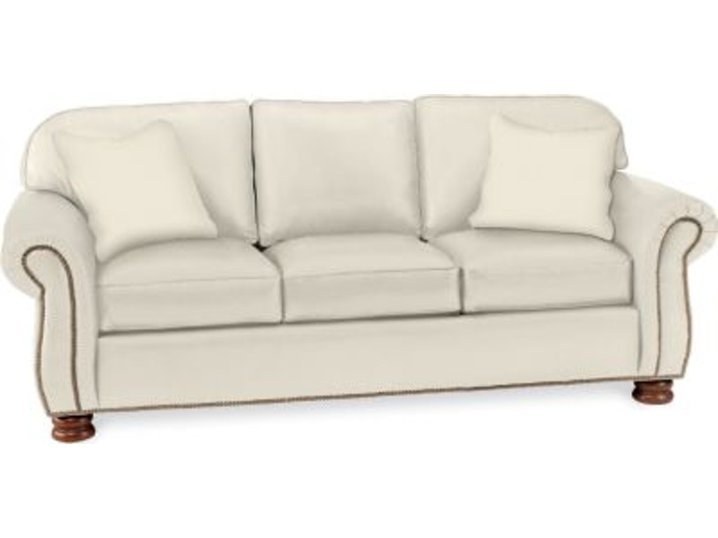 Thomasville Furniture Living Room Upholstered Benjamin 3 Seat Sofa 1461 31