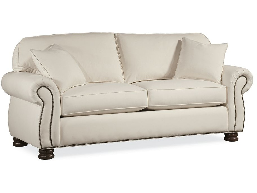 Thomasville furniture 1461 11 living room benjamin 2 seat sofa for Furniture upholstery course