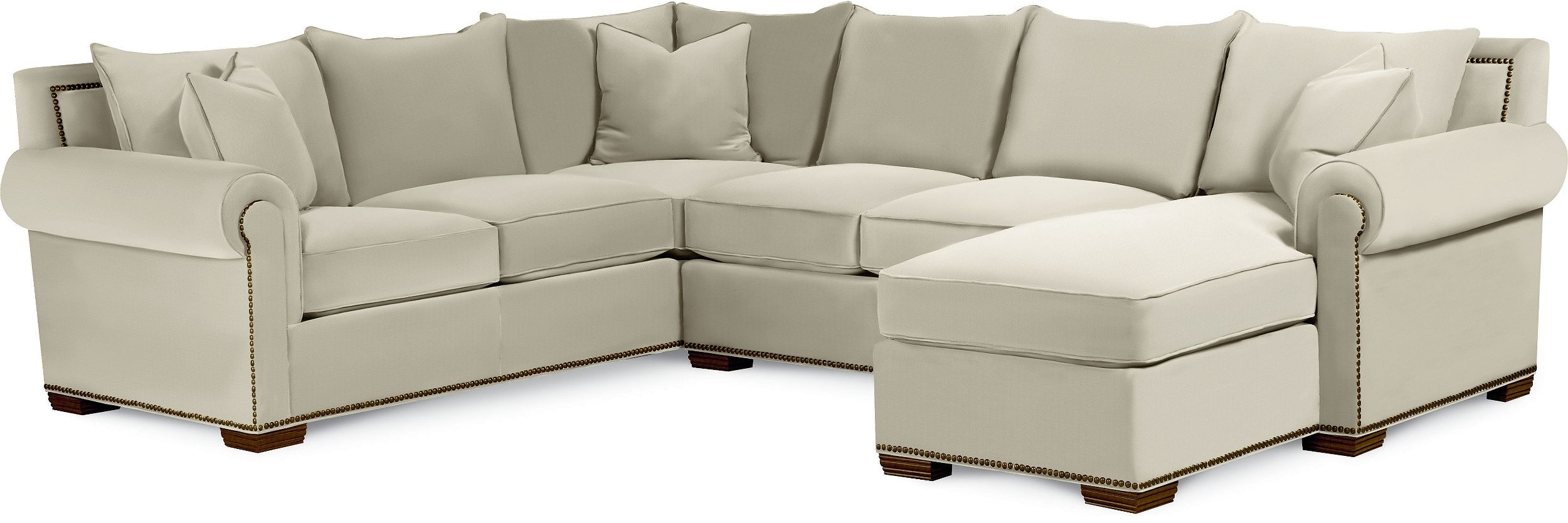 Thomasville Furniture Living Room Fremont Sectional 1658 SECT
