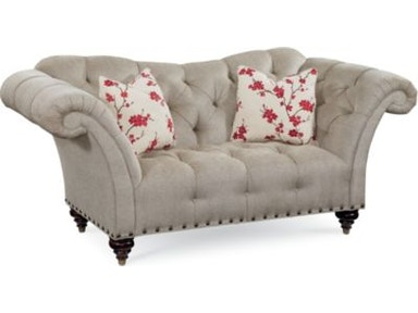Thomasville Furniture Upholstered Ella Loveseat 1718 13