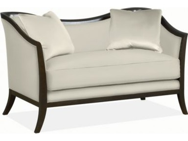 Thomasville Furniture Upholstered Giselle Settee 1766 14
