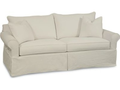 Thomasville Furniture Upholstered Concord Slipcover Loveseat 1903 14SC