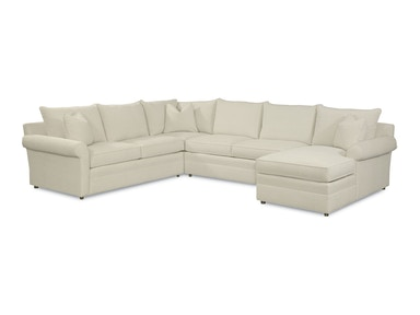Thomasville Furniture Upholstered Concord Armless Loveseat 1903 A24