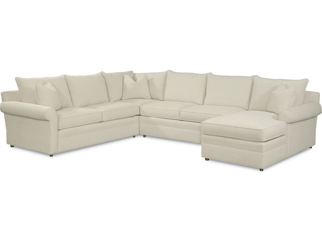 Thomasville Furniture 1903 Sect Living Room Concord Sectional