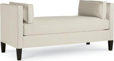 Thomasville Furniture Living Room Upholstered Marin Bench