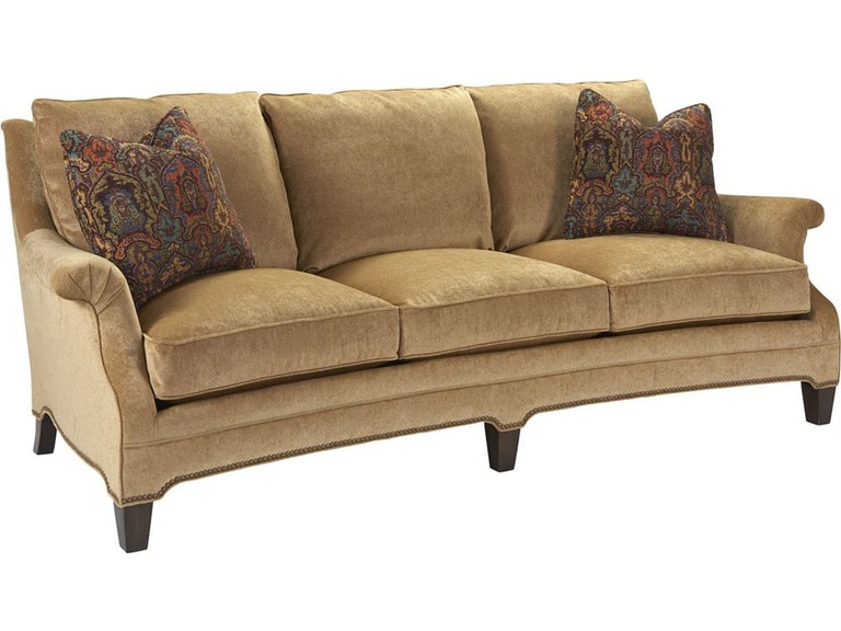 Thomasville furniture 2507 11 living room brady sofa for Furniture upholstery course