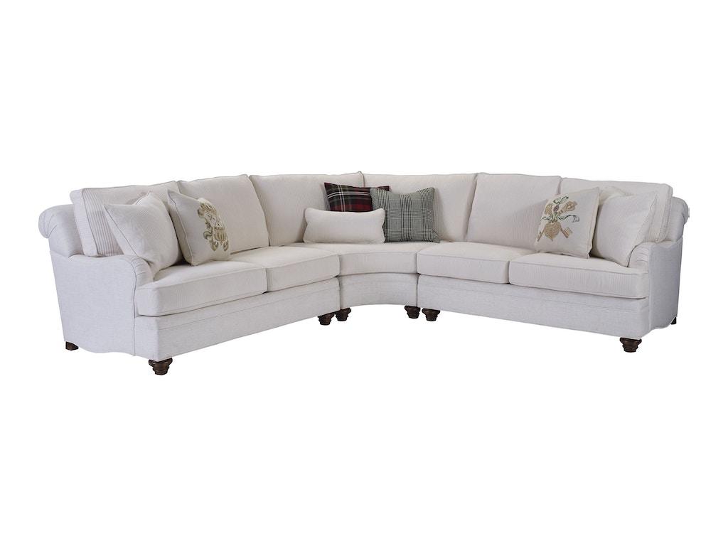 Thomasville Furniture Living Room Tarren Armless Loveseat 2530 A24