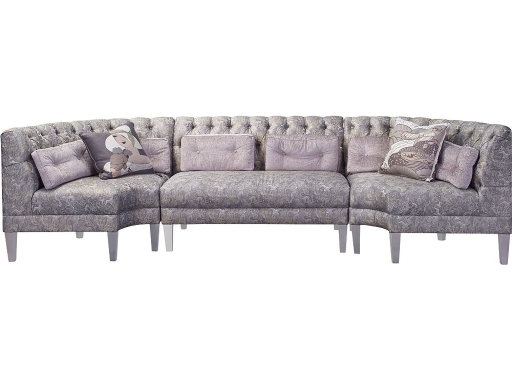 Thomasville Furniture Dining Room Banquet Sectional 2563 Sect Goods Home Furnishings North
