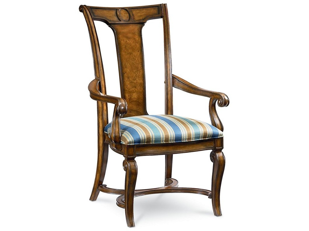 Thomasville Furniture Dining Room Arm Chair 46721 832 Goods Home Furnishings North Carolina