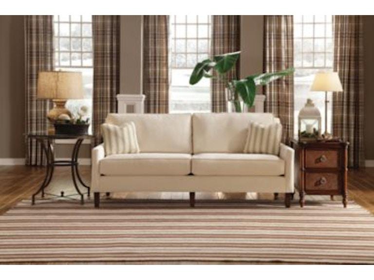 Thomasville Furniture Living Room Upholstered Highlife 2 Seat Sofa 7041 12