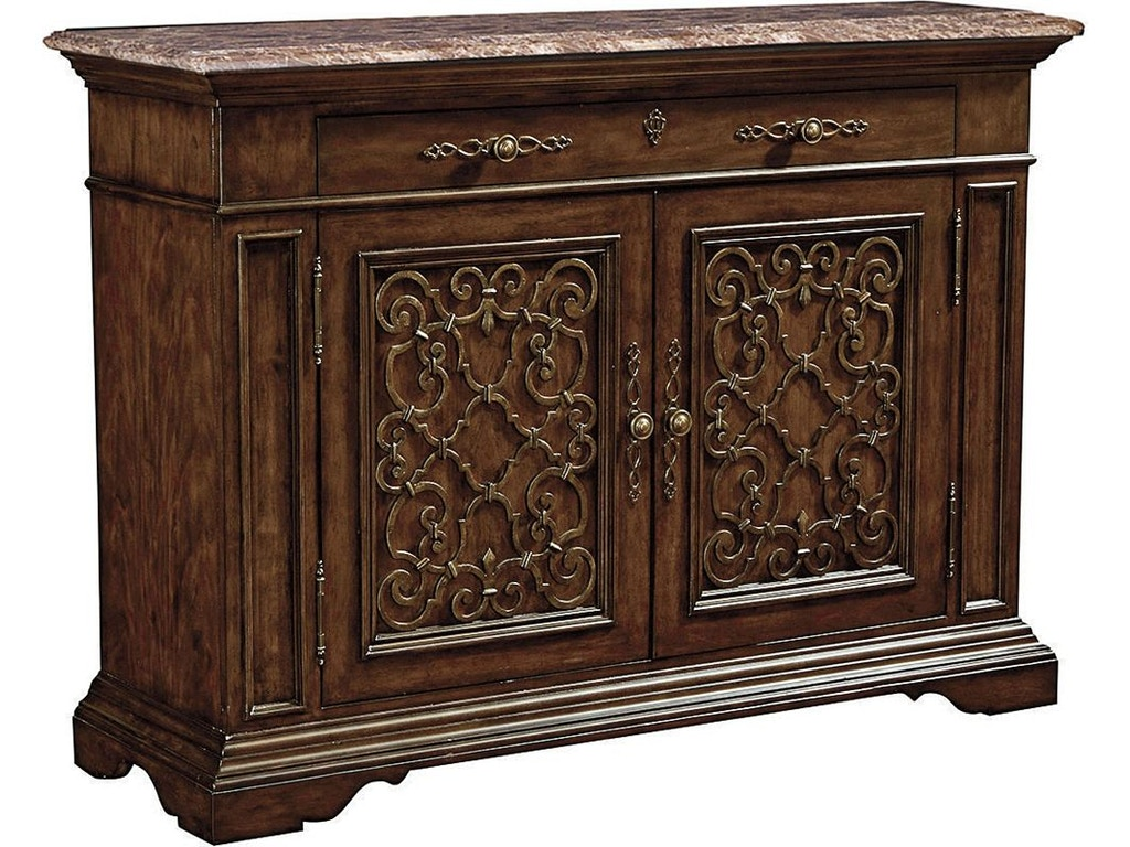 Thomasville Furniture Dining Room Brasserie Buffet Marble Top 84421 121 Goods Home