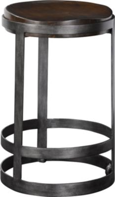 Brunell Mandrel Counter Stool
