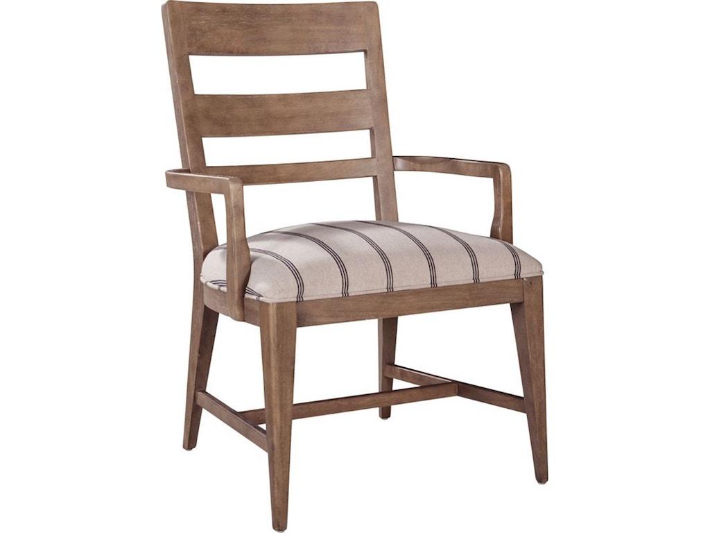Thomasville Furniture Dining Room Hillside Ladderback Arm Chair 85822 826