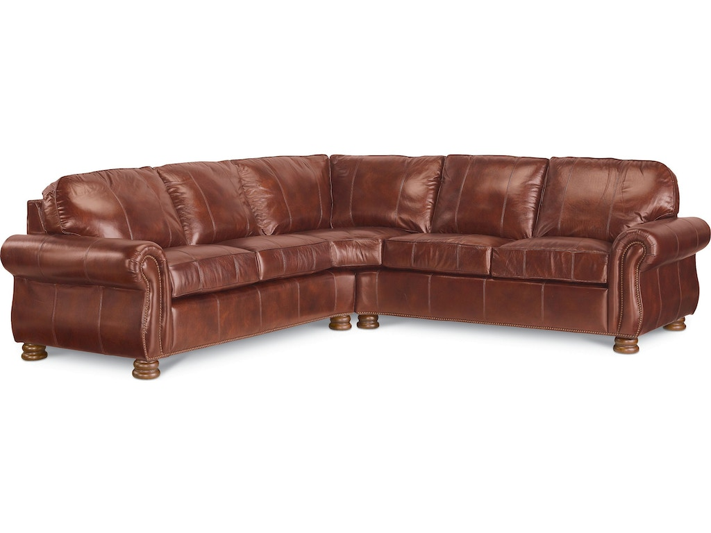 Thomasville Furniture Living Room Upholstered Benjamin Sectional Hs1462 Sect