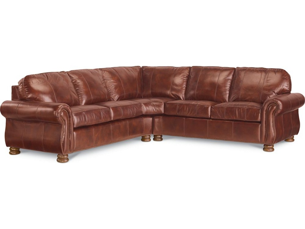 Thomasville Furniture Living Room Benjamin Sectional Hs1462 Sect Goods Home Furnishings