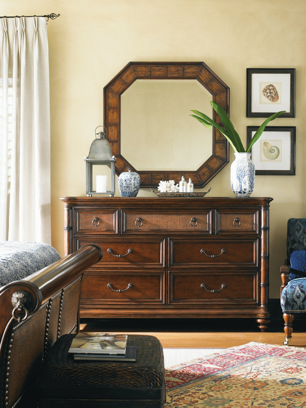 tommy bahama home accessories landara cape coral mirror 545 204