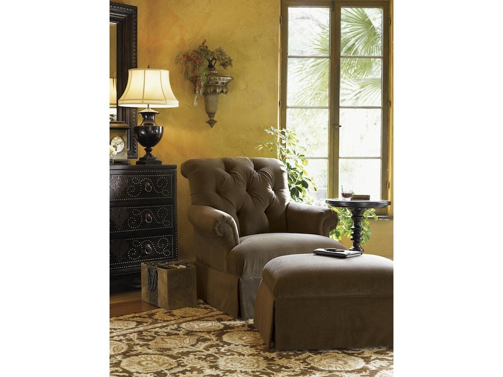 tommy bahama home 7125 11 living room kingstown augustine chair. Black Bedroom Furniture Sets. Home Design Ideas