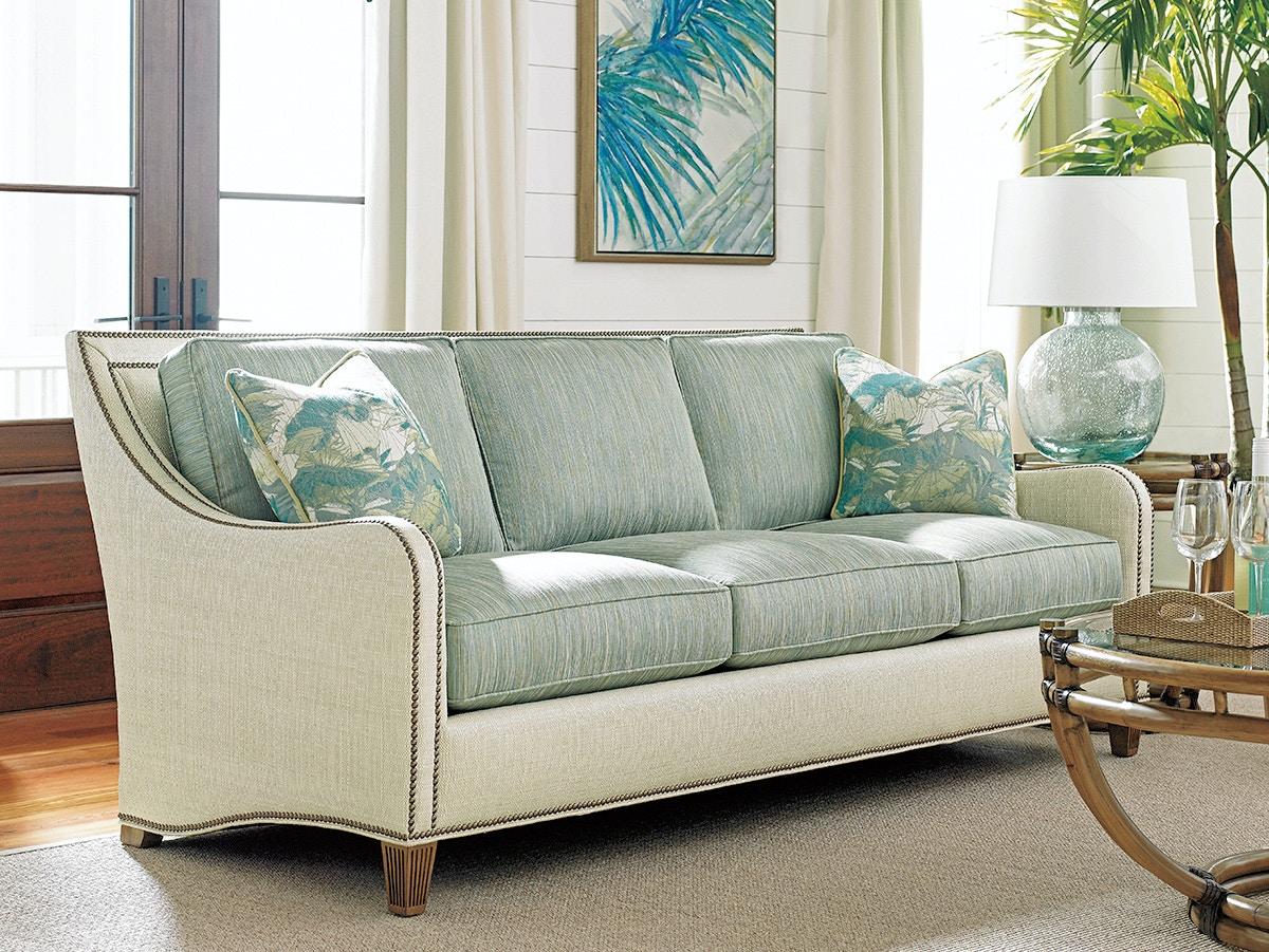 Tommy Bahama Home 7212 33 Living Room Twin Palms Koko Sofa