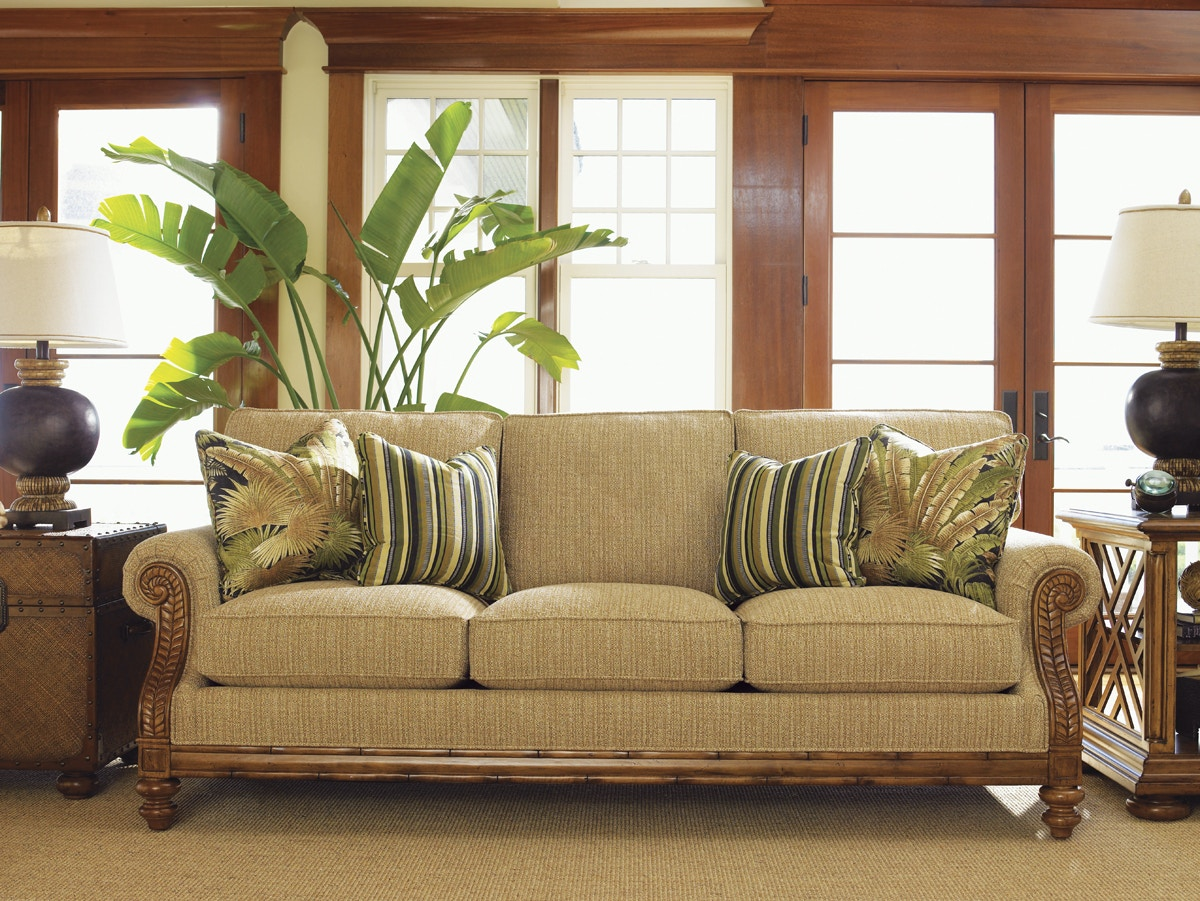 Tommy Bahama Home Living Room West Shore Sofa