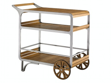 Tommy Bahama Outdoor Tres Chic Bar Cart 3401-862