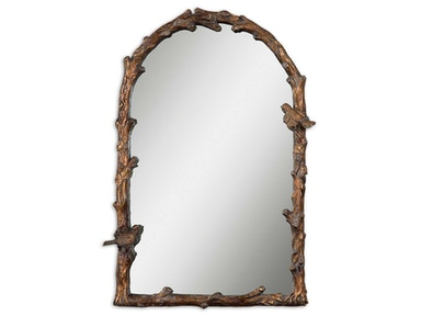 Uttermost Uttermost Paza Antique Gold Arch Mirror 13774