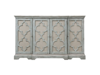 Uttermost Sophie 4 Door Grey Cabinet 24520