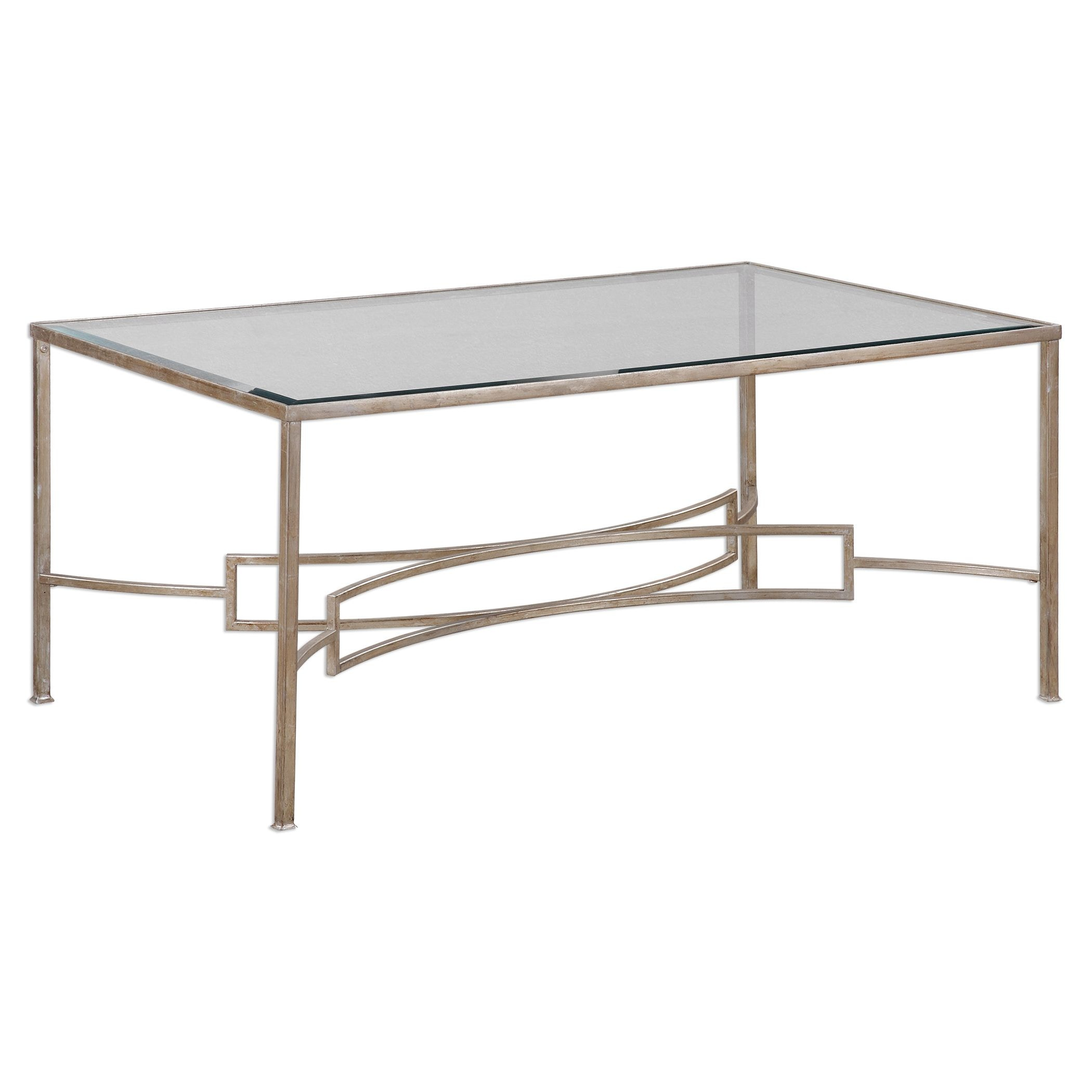 Uttermost Eilinora Silver Coffee Table 24634