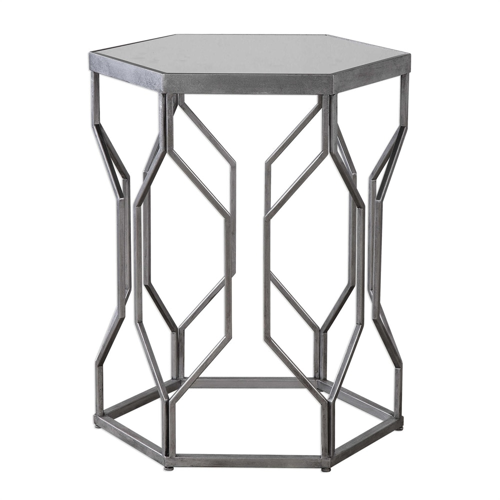 Medium image of uttermost stellan iron accent table 24742