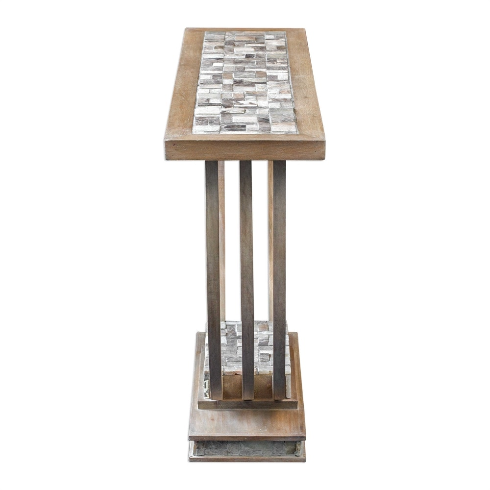 Uttermost Jadrian Mosaic Console Table 25795