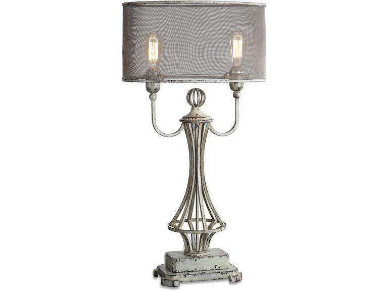 Uttermost 27008 1 lamps and lighting uttermost pontoise aged ivory uttermost pontoise aged ivory table lamp uttermost 27008 1 aloadofball Images