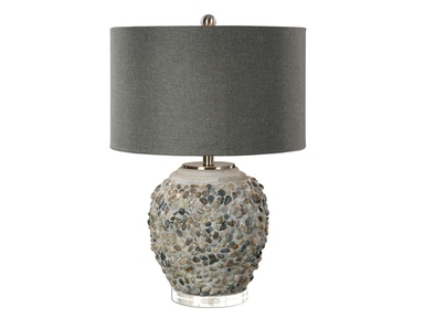 Uttermost Uttermost Carrabelle Layered Stones Lamp 27071-1
