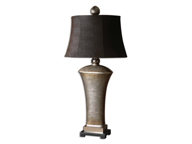 Uttermost Uttermost Afton Antique Silver Table Lamp 27950-1