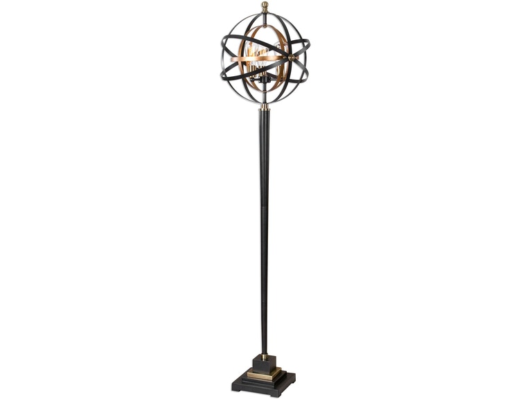 Uttermost Rondure Sphere Floor Lamp 28087 1