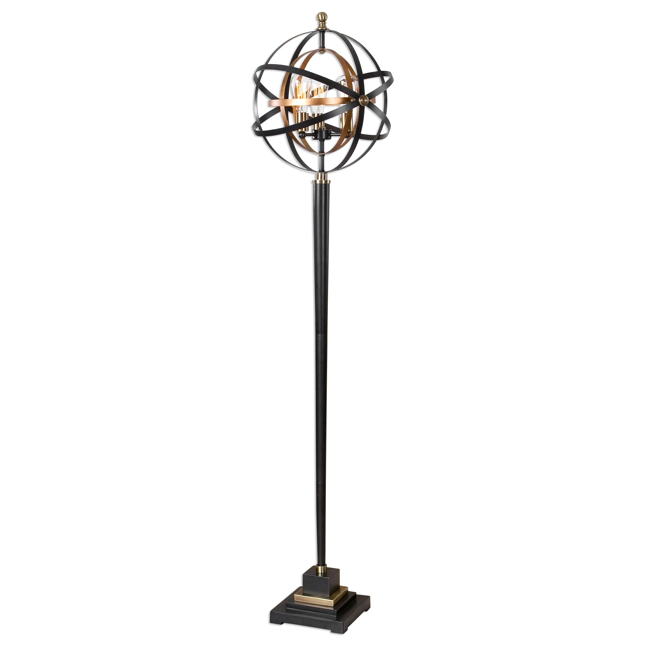 uttermost rondure sphere floor lamp 28087 1 lamps and lighting uttermost rondure sphere floor lamp 28087 1      rh   goodshomefurnishings