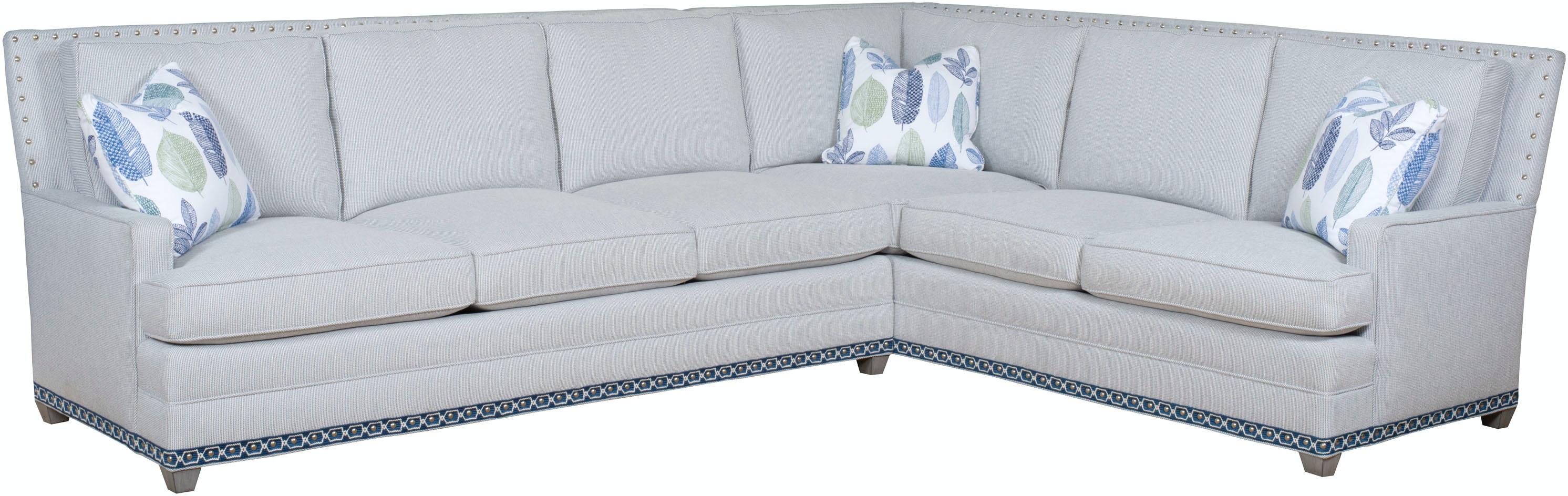 Vanguard Furniture 604 LAS Living Room Riverside Left Arm Sofa