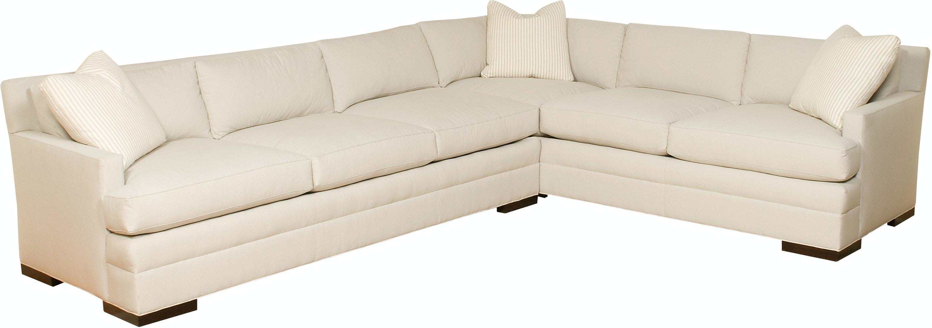 Vanguard Furniture 608 LAS Living Room Newberry Park Left Arm Sofa