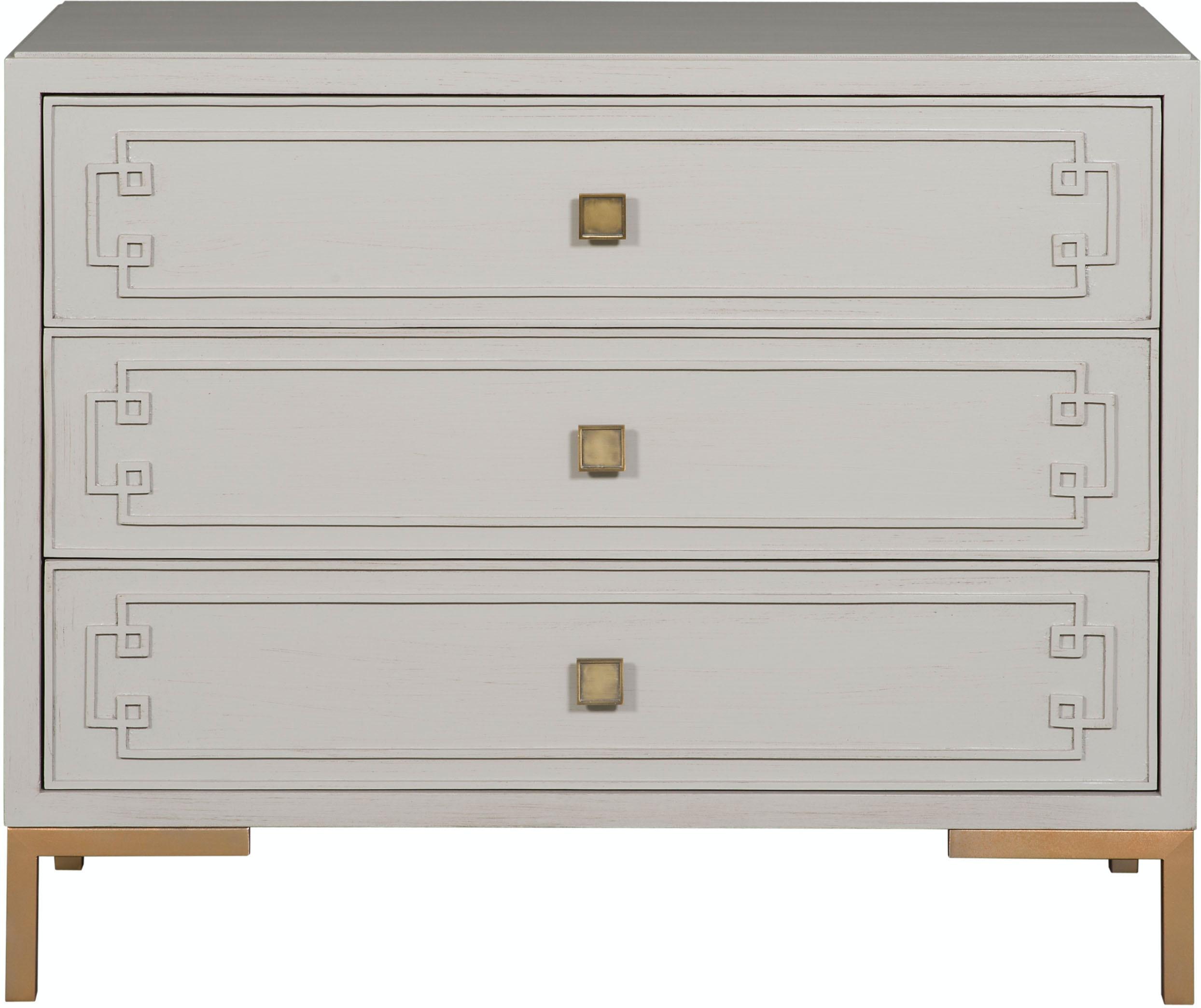 Vanguard Furniture CC03G Living Room McKinney Side Table