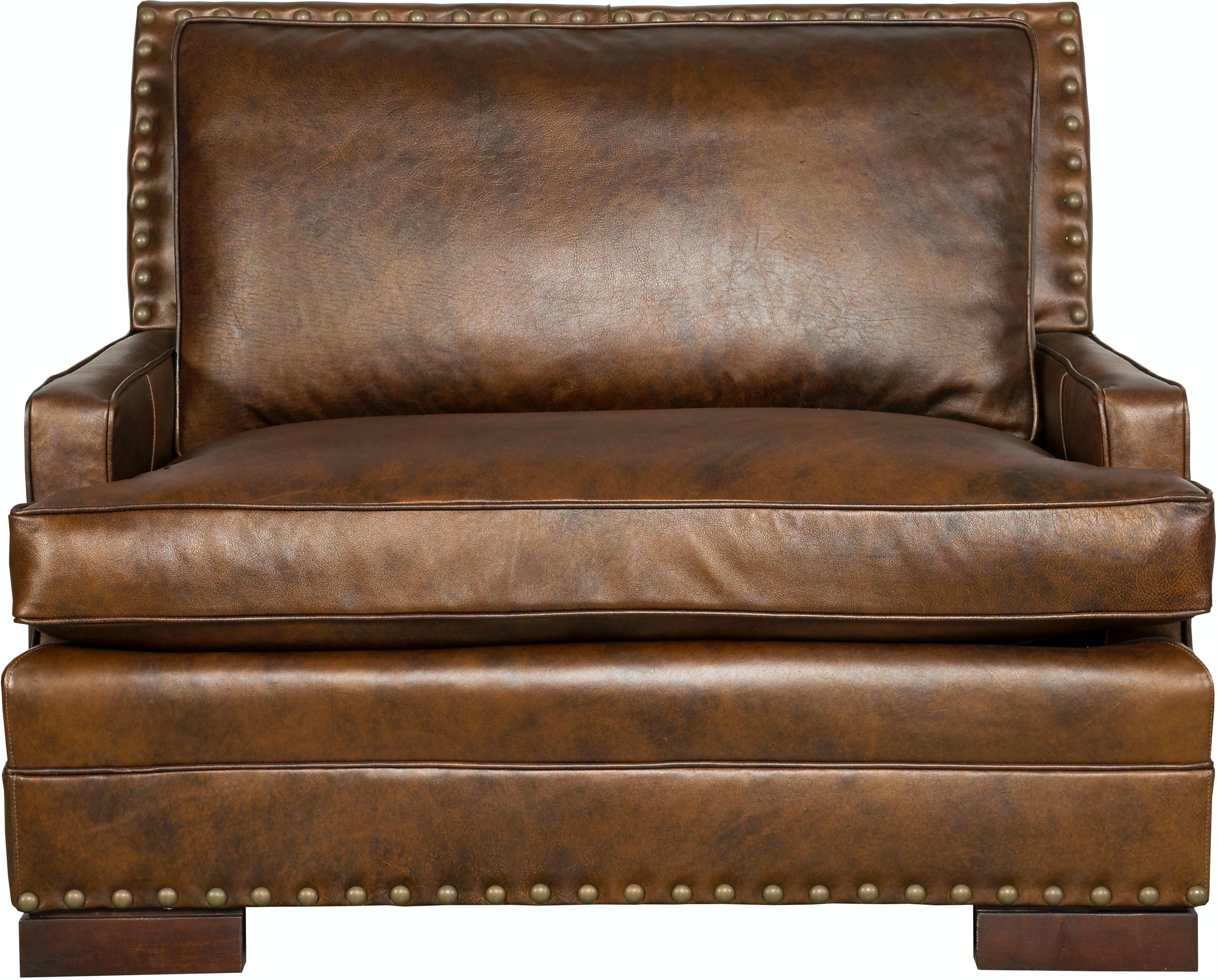 Vanguard Furniture 604 CHH Living Room Riverside Chair & Half