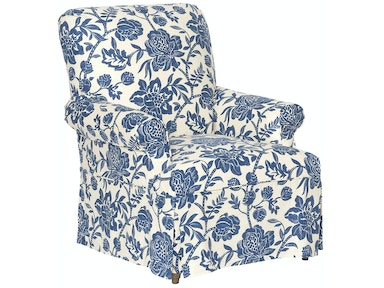 Vanguard Furniture Peele Chair Slipcover S382-CH