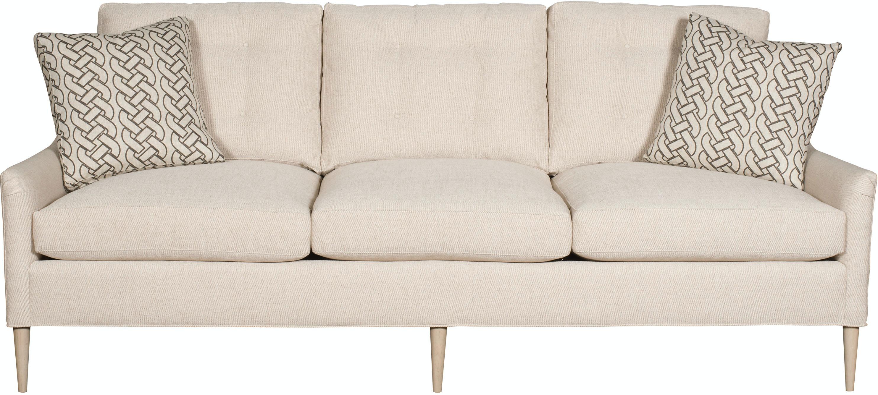 Vanguard Furniture Living Room Lydia Button Back Sofa V963 S