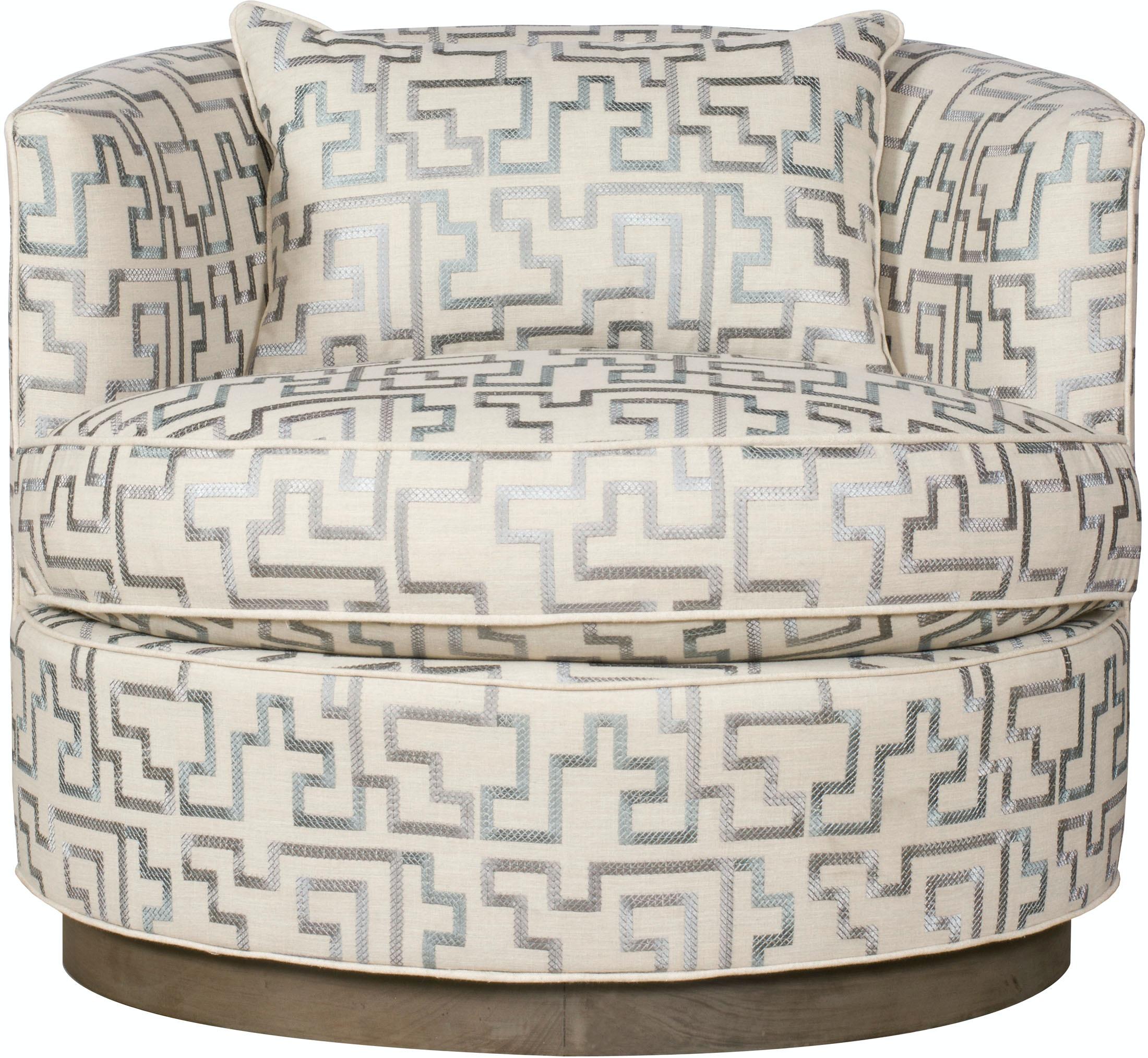Vanguard Furniture W195P SW Living Room Bernadette Swivel Chair