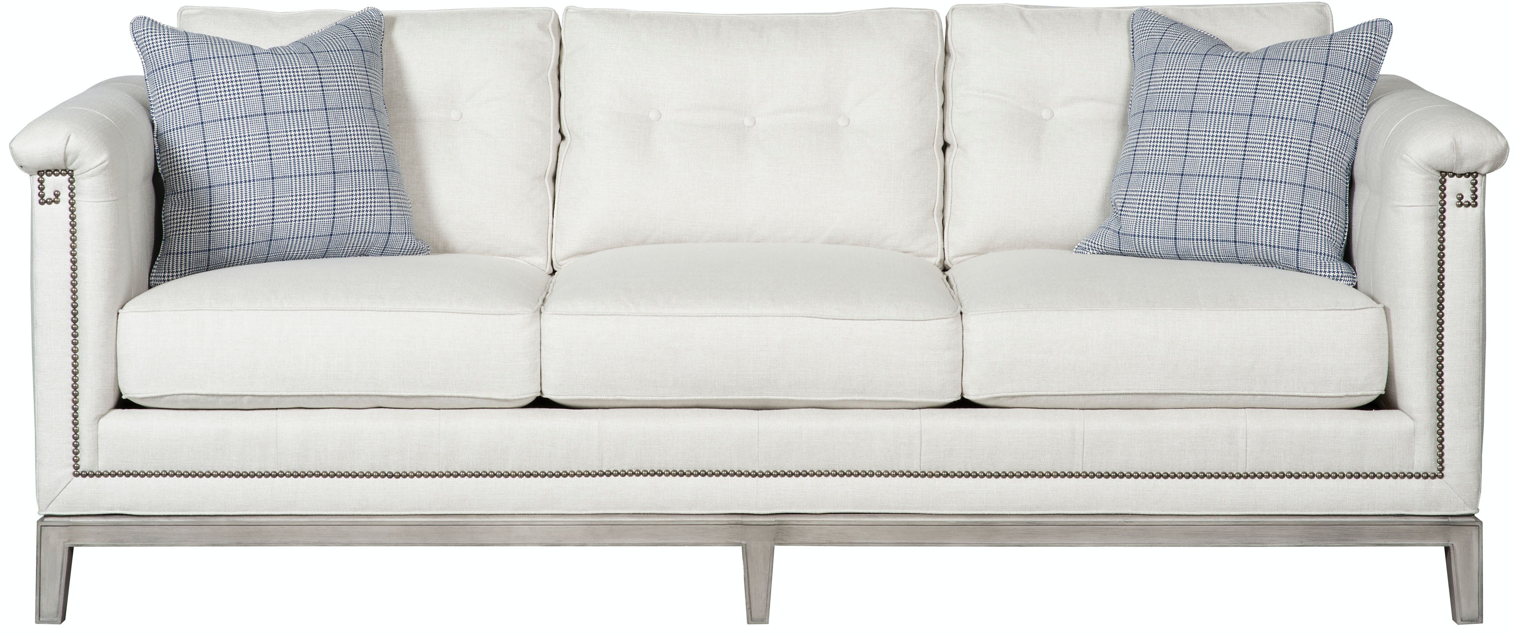 Vanguard Furniture Michael Weiss Hempstead Button Back Sofa W793B S