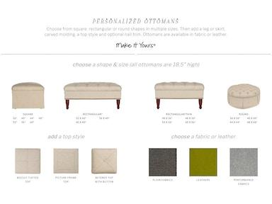 Pleasing Vanguard Ottomans Goods Home Furnishings Ibusinesslaw Wood Chair Design Ideas Ibusinesslaworg