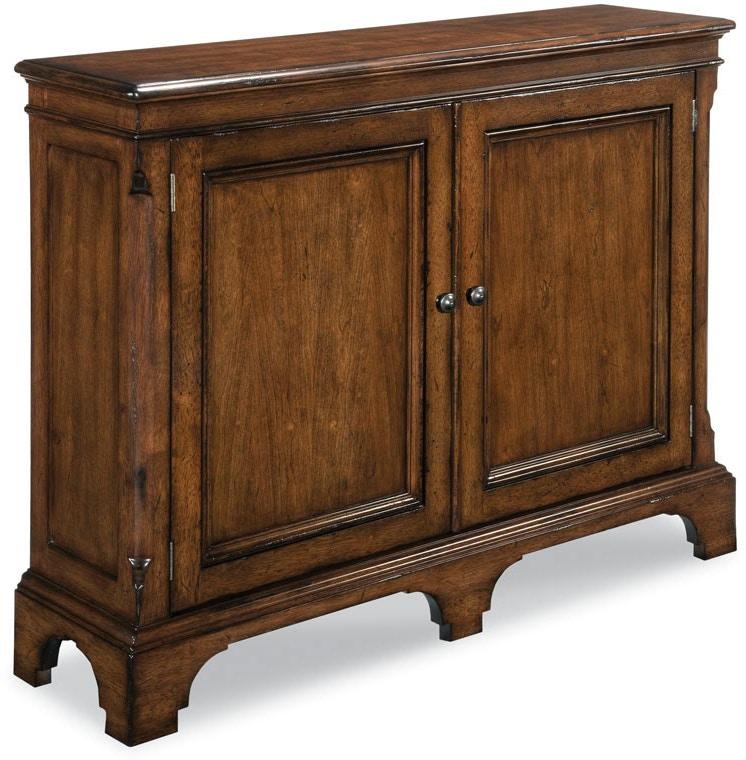 woodbridge furniture 306011 living room hall cabinet