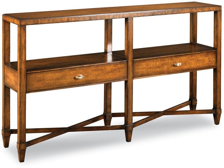 Woodbridge Furniture 3078 19 Living Room Greenwich Console