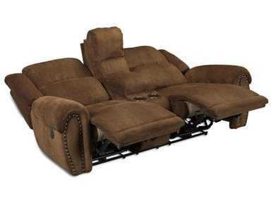 Catnapper Furniture Lay Flat Reclining Console Loveseat 1779