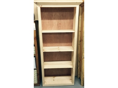 AH Woodworking 6FT Bookcase BOOK-RU-72-ADJ-UNF