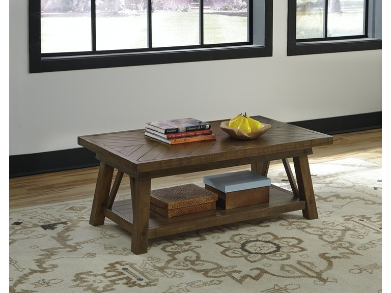 Signature Design By Ashley Living Room Coffee Table T863 1